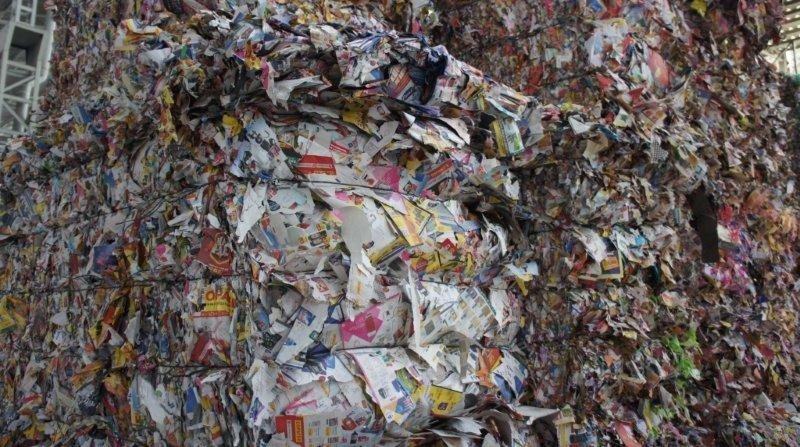 Empresas de reciclagem de papel e papelão