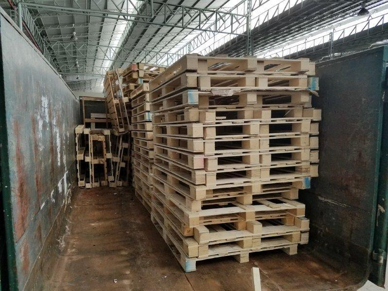 Reciclagem de madeira