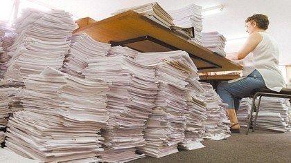 Reciclagem de papel sp