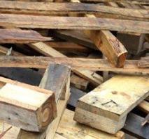 Descarte de madeira